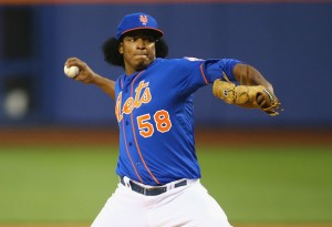 Jenrry Mejia - (Al Bello/Getty Images)