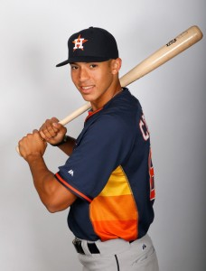 Carlos Correa <Source: Kevin C. Cox/Getty Images North America)